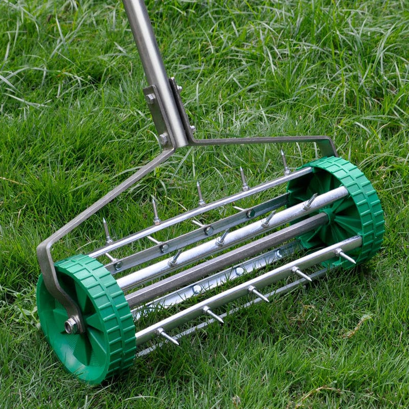 Rolling Hand Lawn Aerator